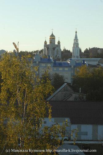 Утро в Ханты-Мансийске