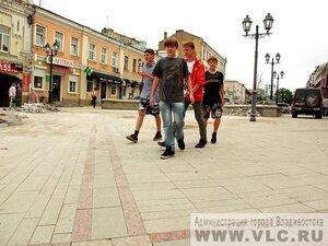 Во Владивостоке завершается реконструкция Арбата