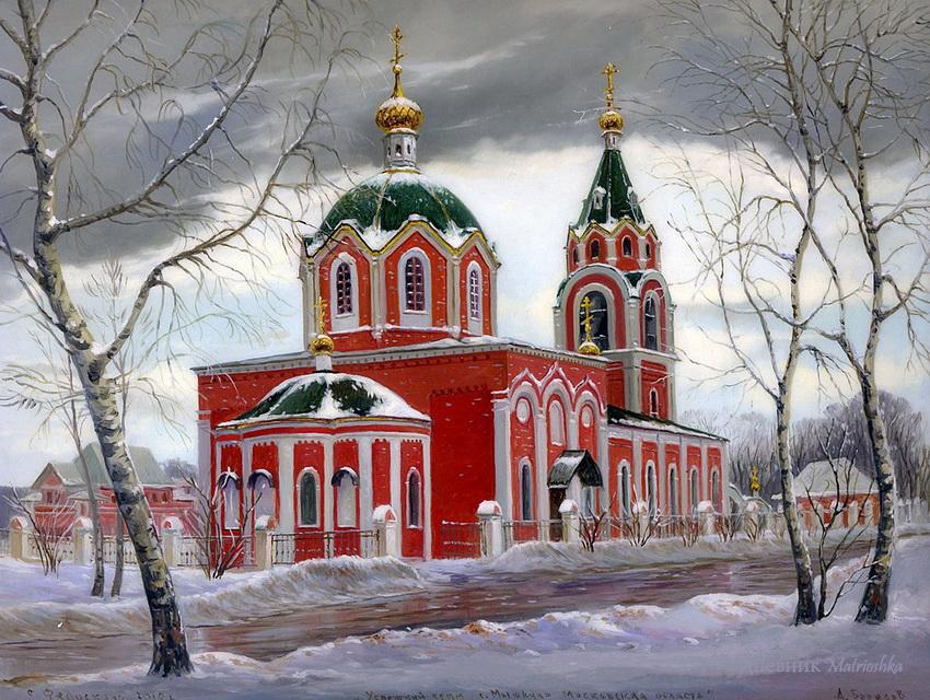 Картинки, православные храмы открытки