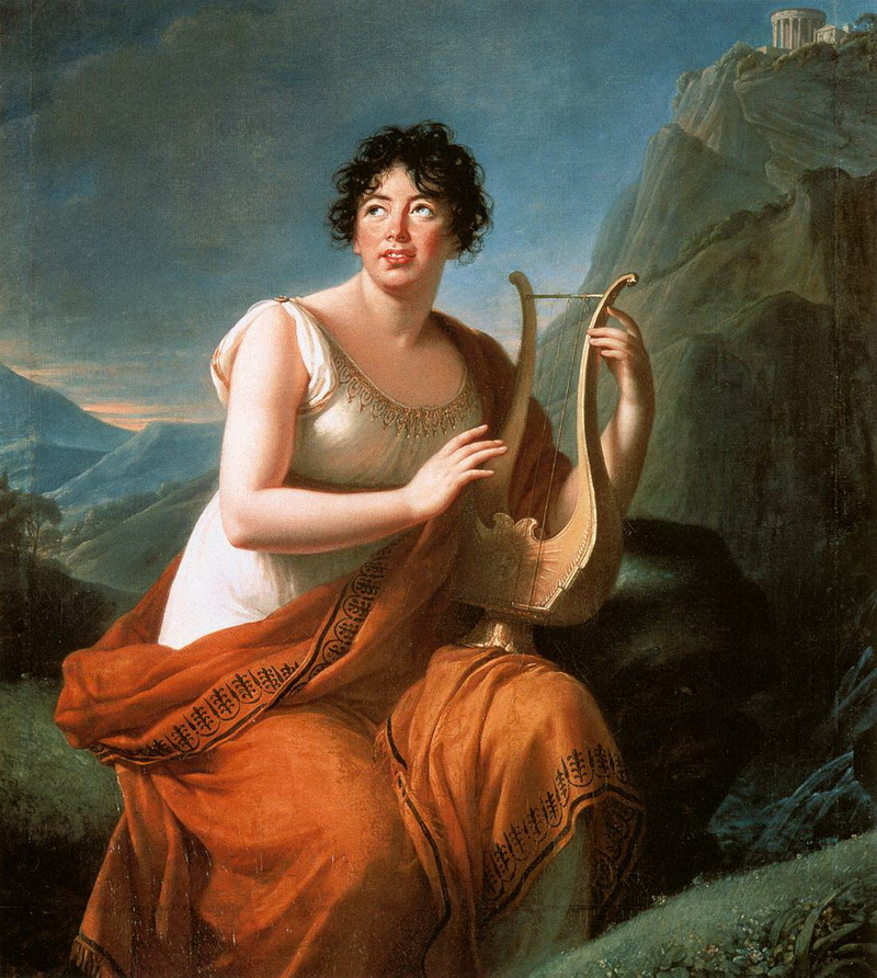 Мадам де Сталь, 1809, Музей искусства и истории, Женева