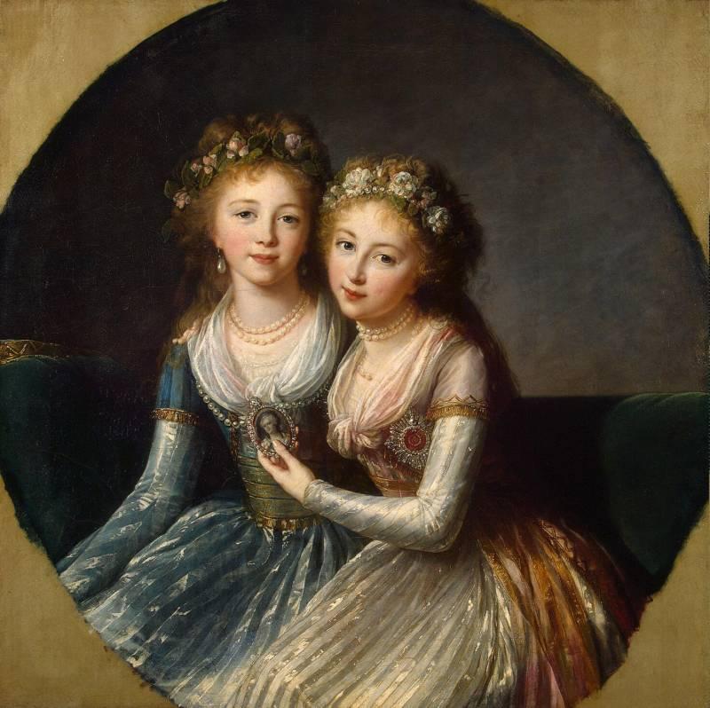 Портрет дочерей императора Павла I, Эрмитаж