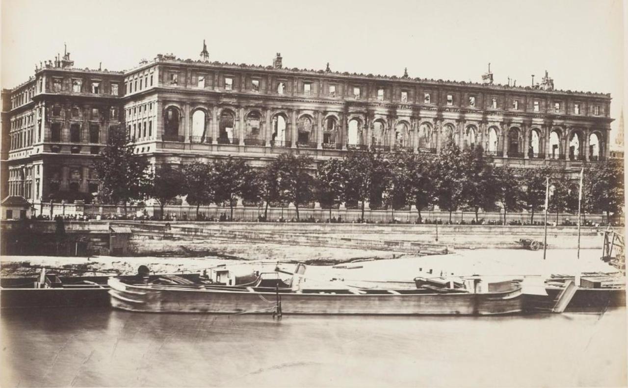 1871. Государственный Совет сожгли во время Парижской Коммуны