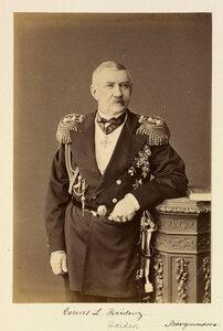 Граф Федор Логинович Гейден 2-й (1821—1900) — русский военачальник, участник Кавказской войны, Финляндский генерал-губернатор; генерал от инфантерии (17 апреля 1870). Член Государственного совета (с 22 мая 1881).1874