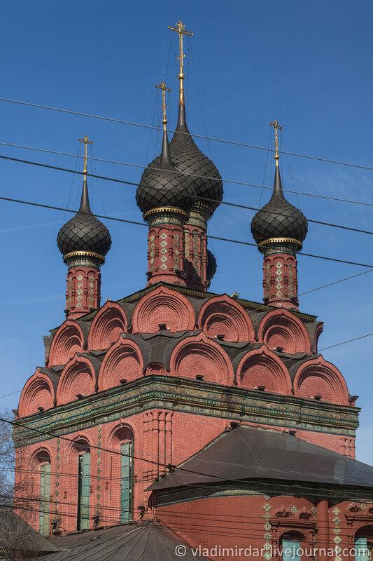 Церковь Богоявления Господня. Ярославль. Золотое Кольцо.