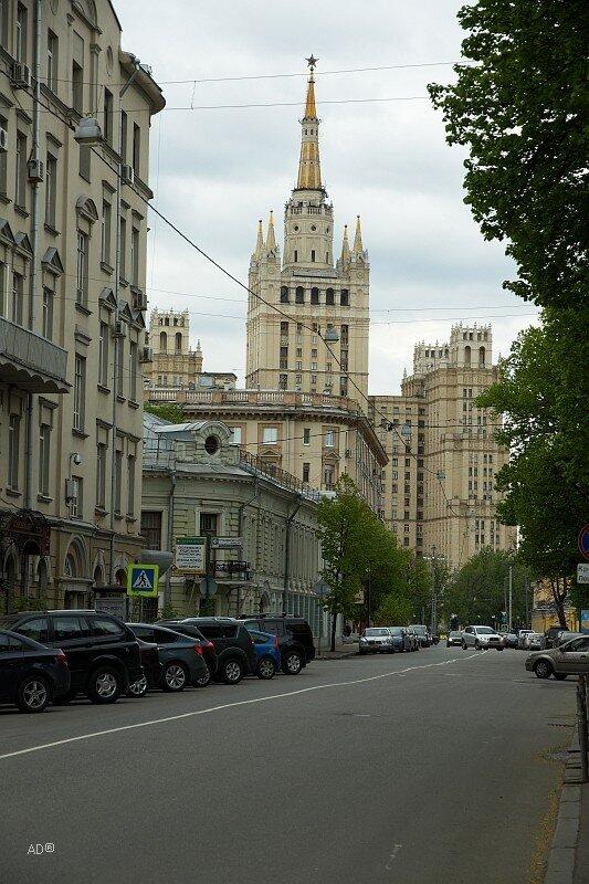 Жилой дом на Кудринской площади (сталинская высотка)