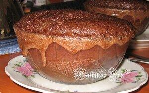 шоколадно-ореховый бисквит