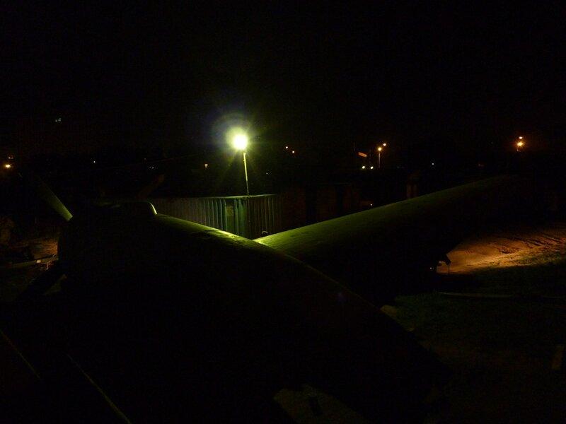 Ртутная лампа, как на мачте городского освещения