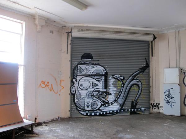 Граффити by Yok