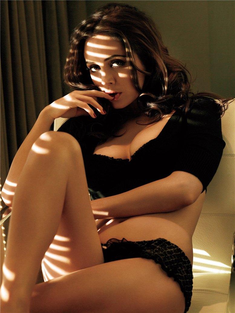 модель Элиза Душку / Eliza Dushku, фотограф James White
