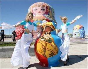 Матрешка стала официальным сувениром Олимпийских игр в Сочи