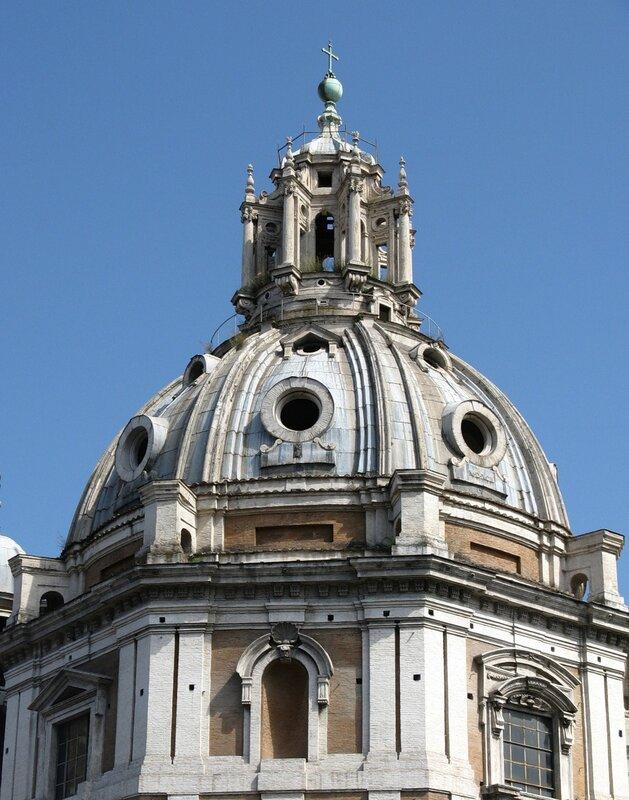 Рим. Церковь Святой Марии Лоретанской (Chiesa di Santa Maria di Loreto)