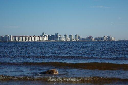 Остров Декабристов, вид с парка 300-летия