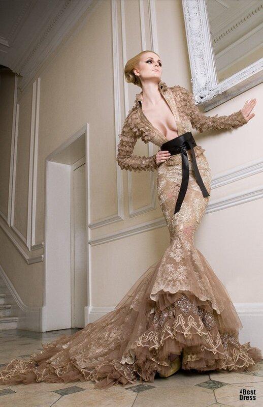 ...весна 2012 коллекция Haute Couture Shady Zeineldine - весна 2012 коллекция Haute Couture - Свадебные платья...