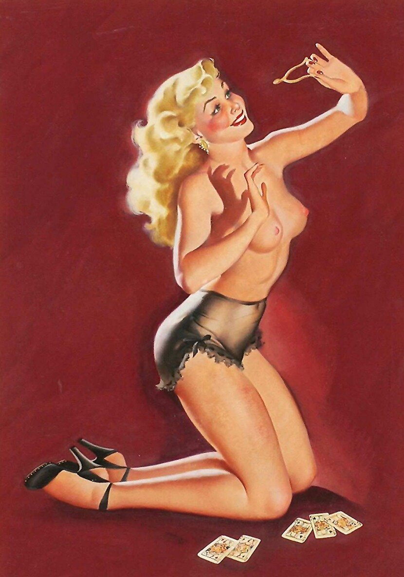 Animated gifs erotic pin up girl #10