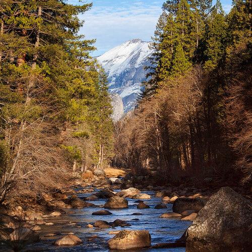 Йосемитский пейзаж