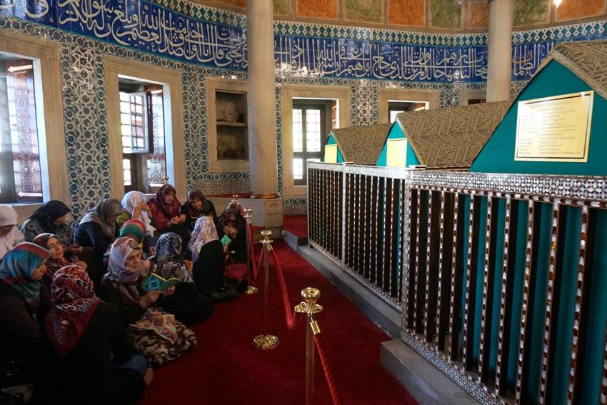 мавзолей хюррем хасеки султан фото