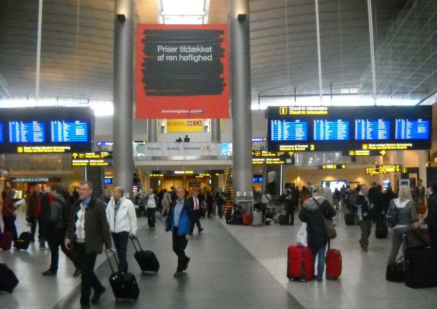 Самым надежным европейским аэропортом признали аэропорт Копенгагена