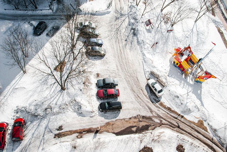 новый район проблемы с парковкой