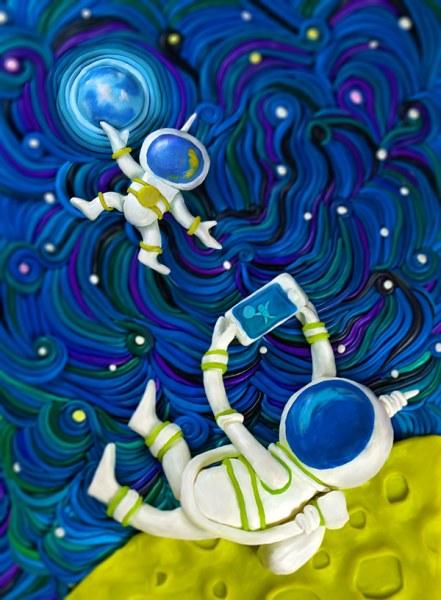 Пластилиновые фантазии
