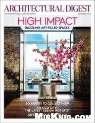 Журнал Architectural Digest - December 2013 (USA)