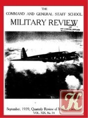 Military Review 1939-09. Volume XIX No. 74