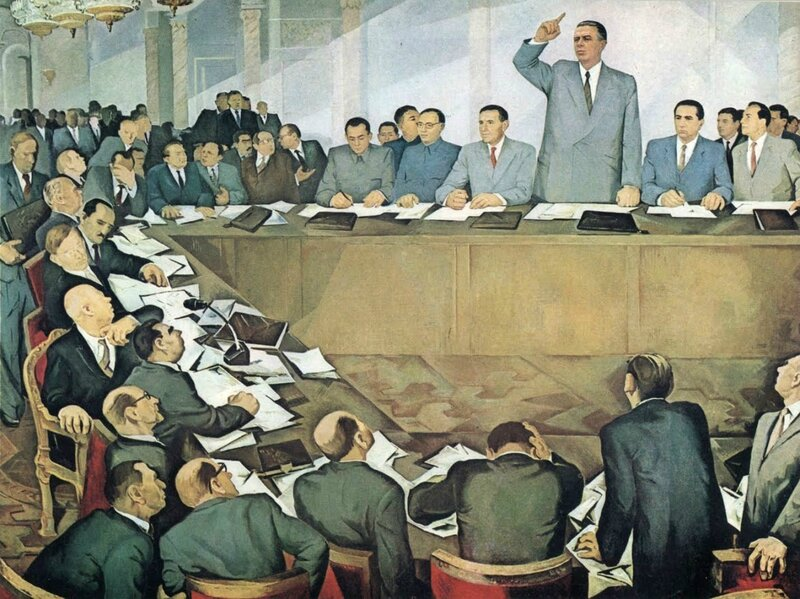 Гури Мадхи. Энвер Ходжа разоблачает советских ревизионистов. 1979 г..jpg