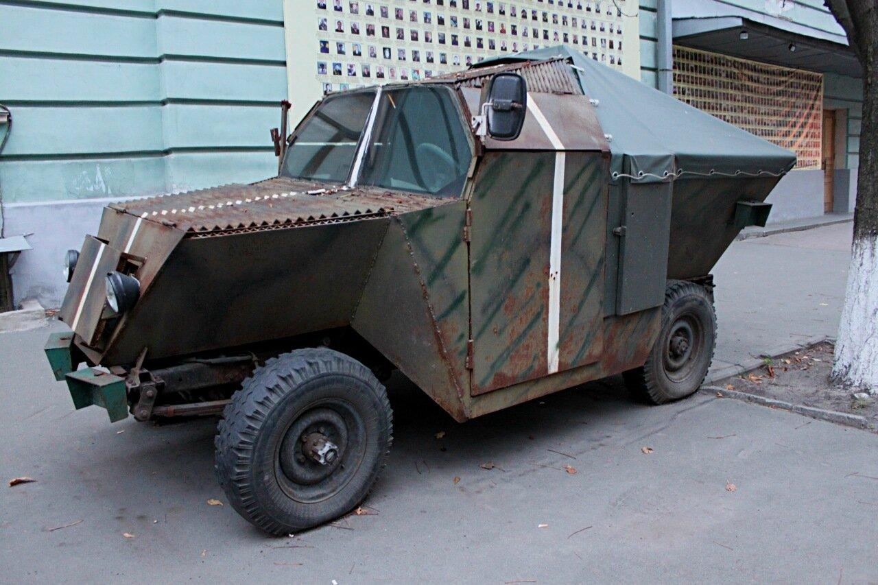 Бронеавтомобиль Кузнечик