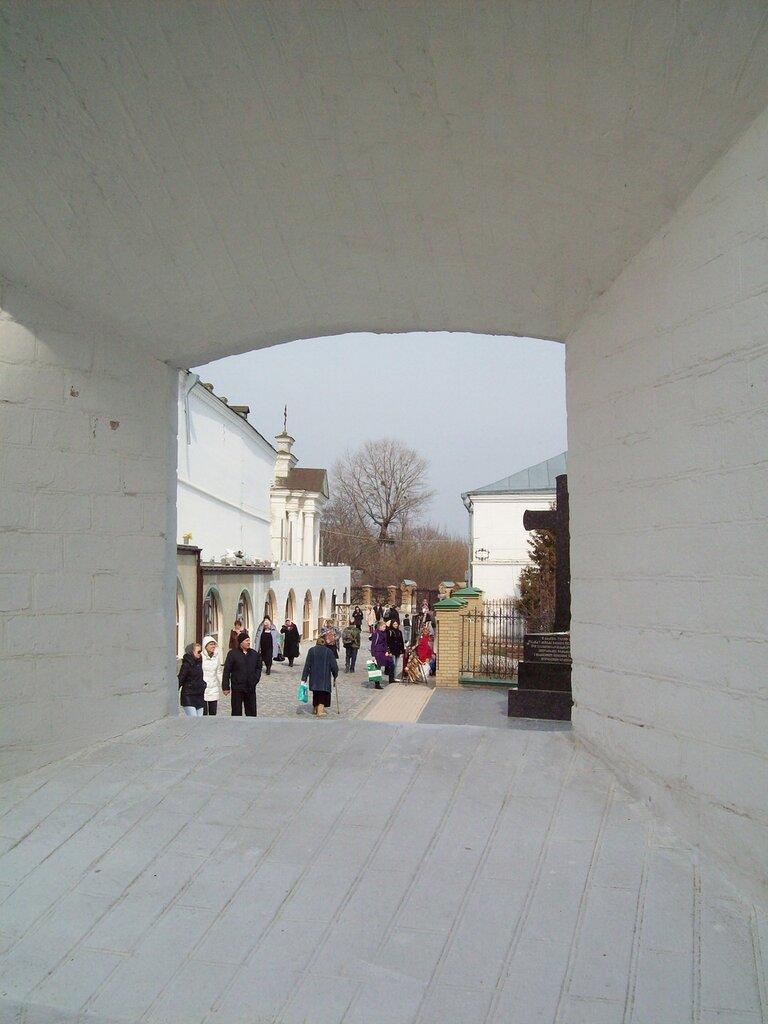 окно в воротах
