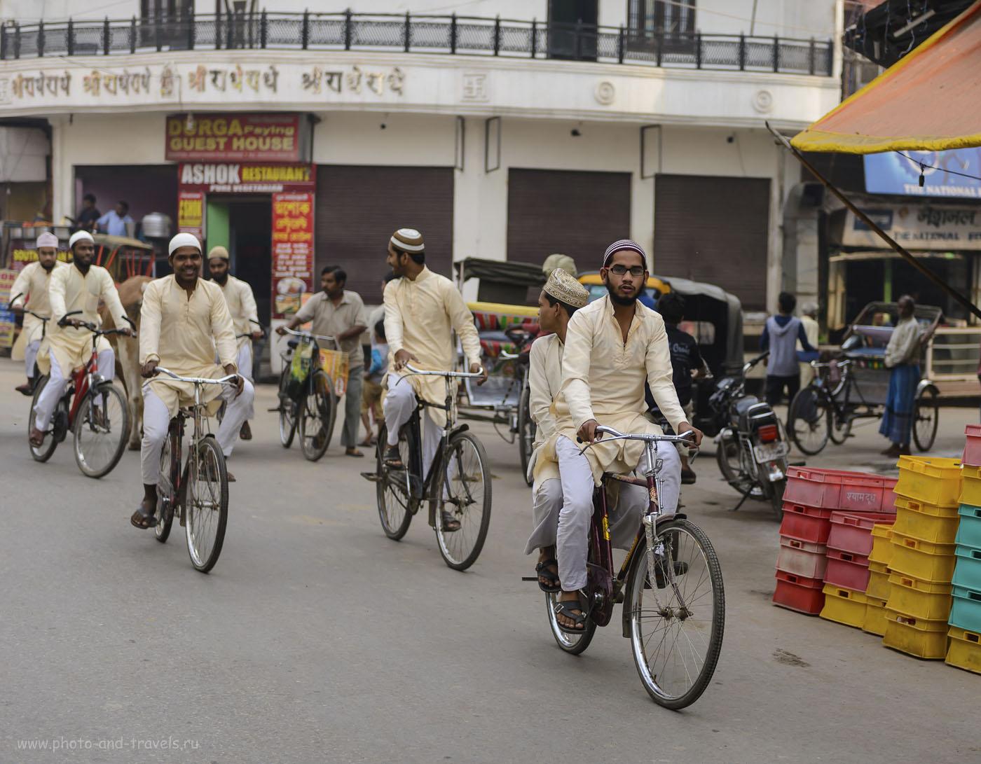 Фото 18. Индия – одно из самых многонациональных и многоконфессиональных государств в мире. Дай Бог, чтобы улыбки не слетали с лица жителей Варанаси. 1/1000, 2.8, 250, 56.