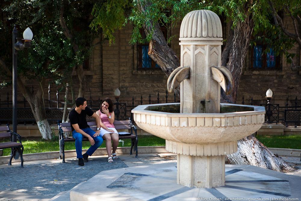 Прогулка по старому Баку