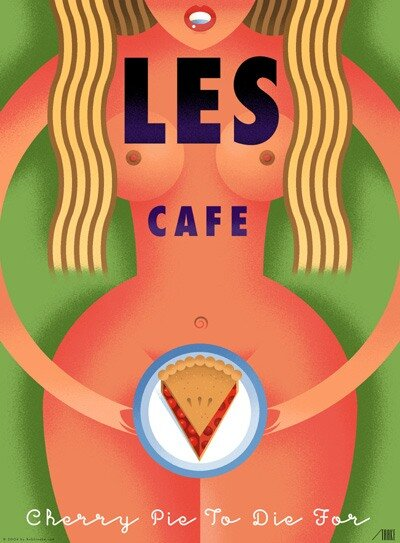 poster by Bob Staake