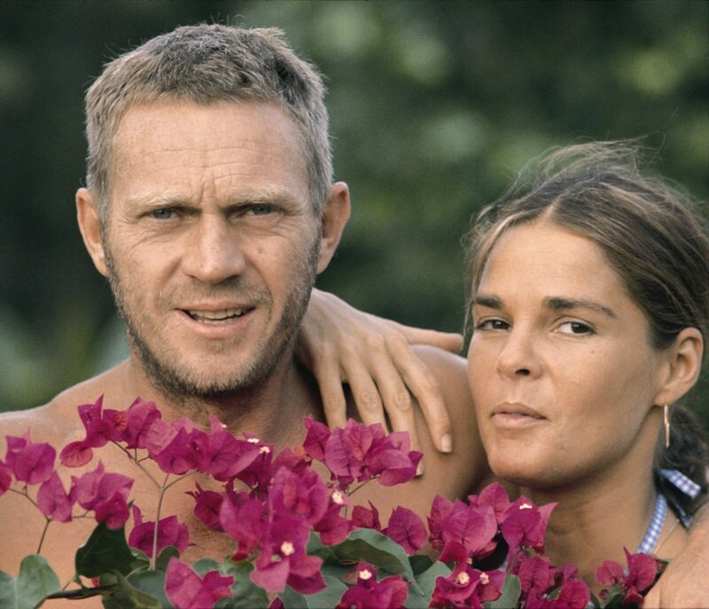 Steve McQueen and Ali McGraw, Jamaica 1973