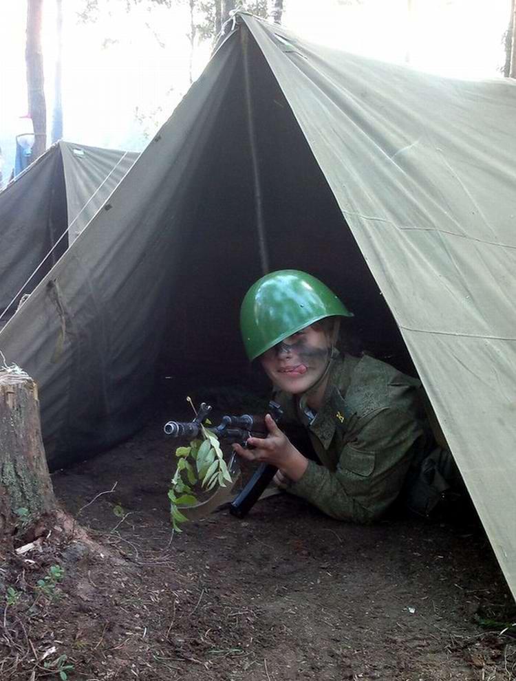 От тайги до британских морей ... : Лица девушек из Российской армии (23)