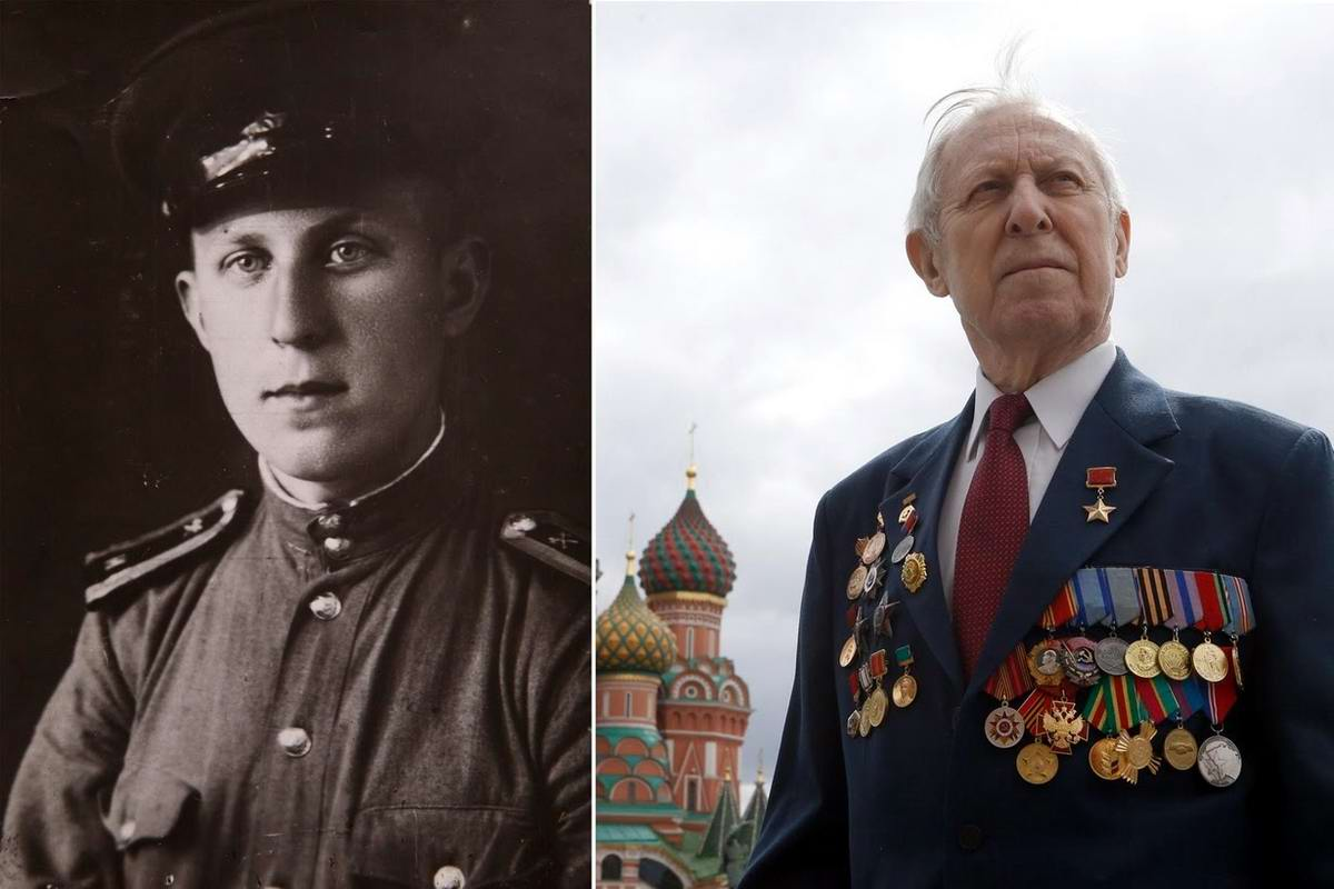 15 героев Великой Отечественной Войны из 15 республик Советского Союза - Борис Рунов, уроженец России, 89 лет