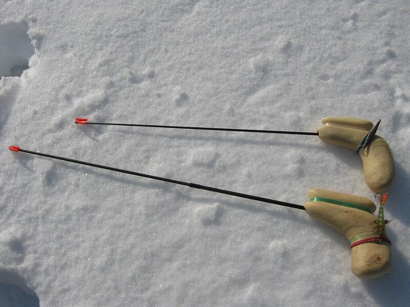 сделать удочку рыболовный своими руками