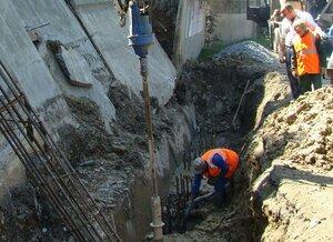 В Находке ремонтируют подпорные стены