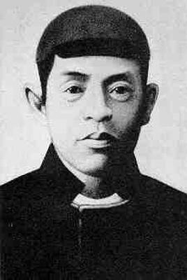 Фотография Сайто Хадзима, одного из командиров Синсэнгуми.
