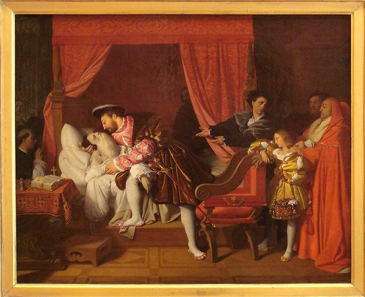 Картина XIX века кисти Энгра в