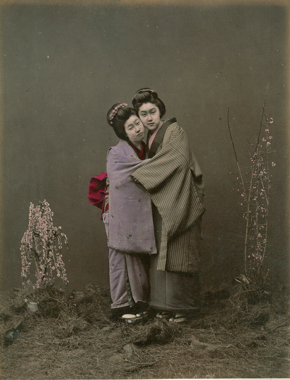 Подруги. 1875