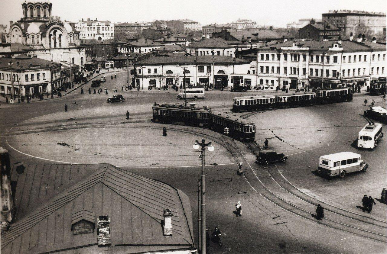1930-е. Калужская площадь