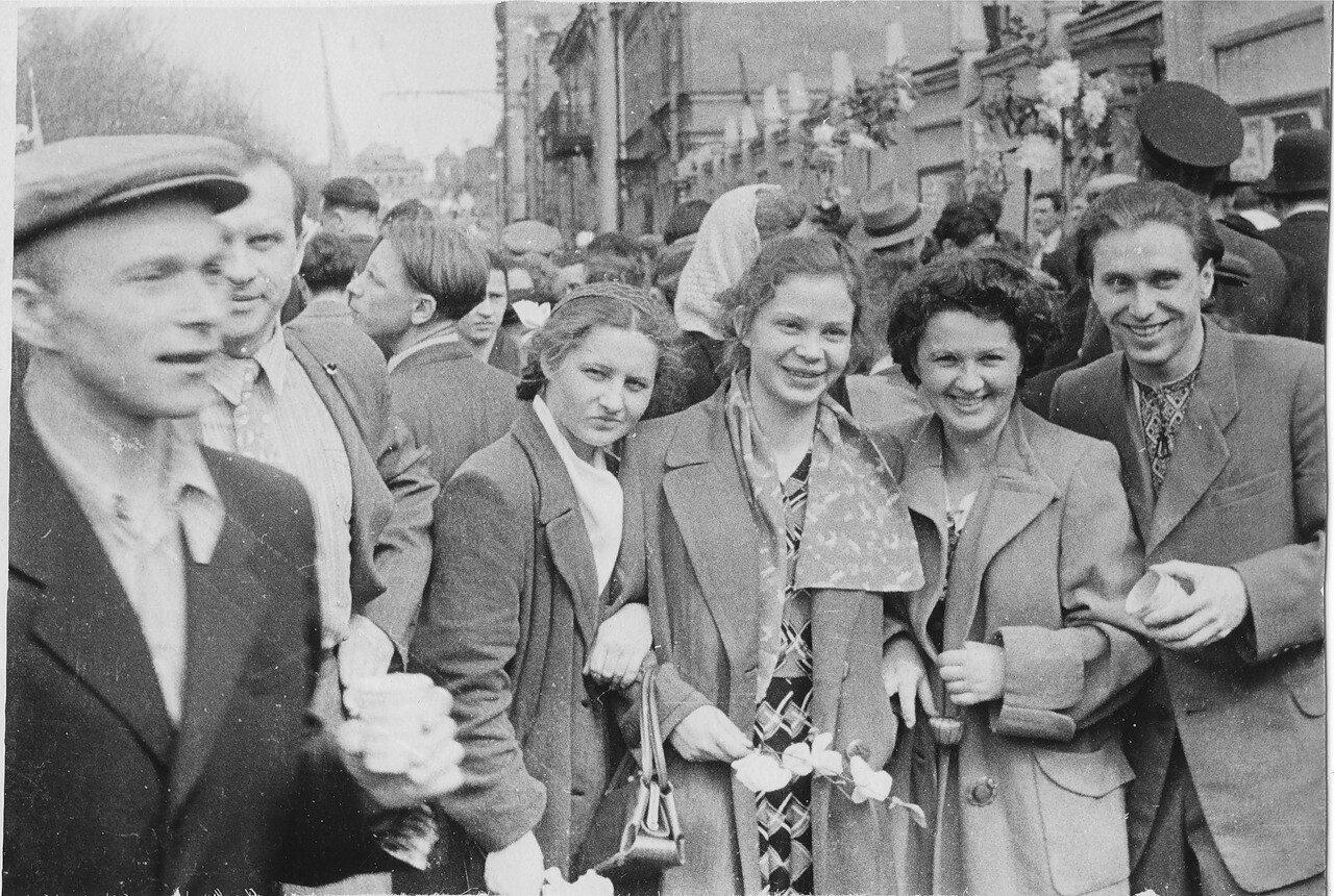 1950-е. Москва, Первомай
