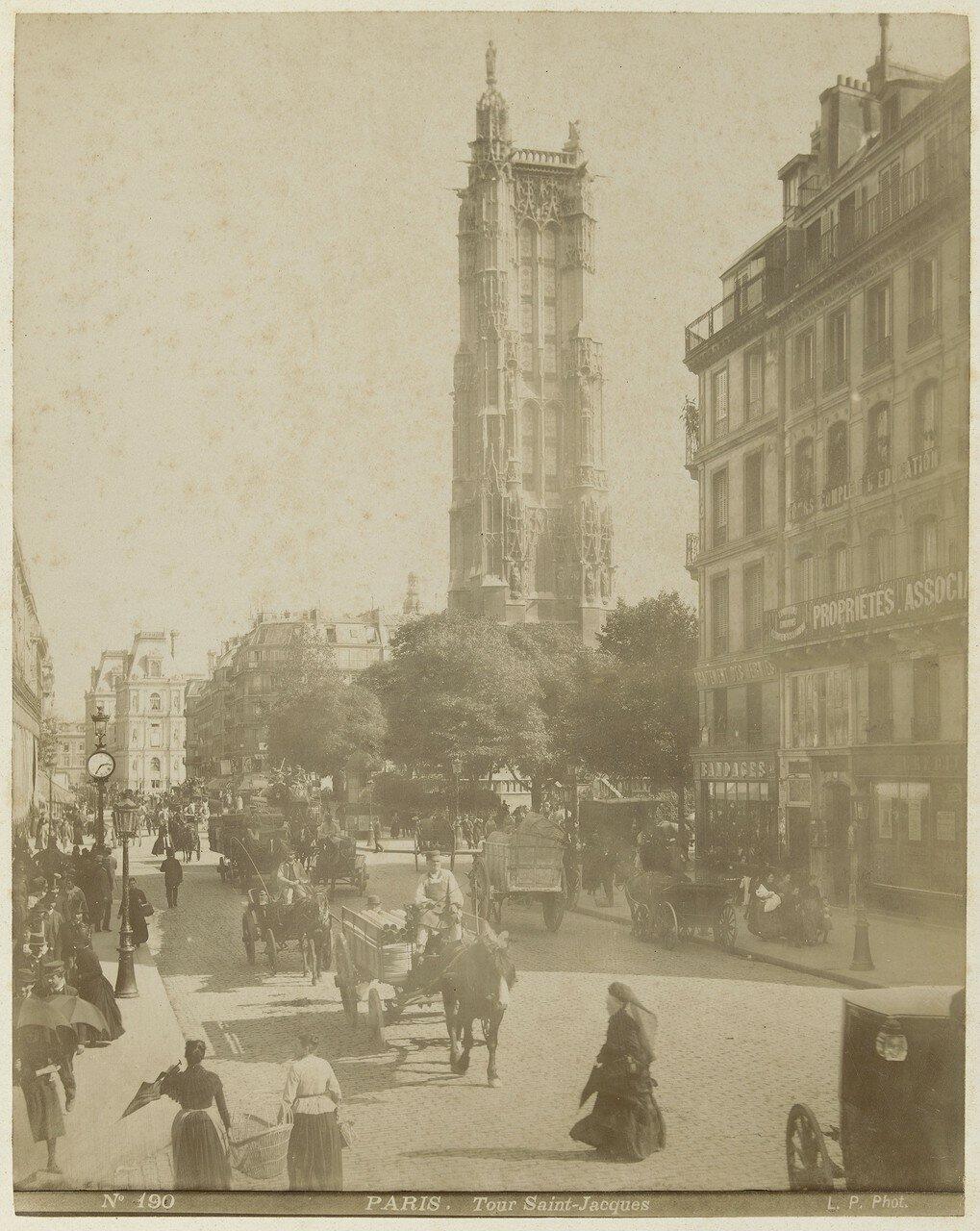 1870-е. Башня Сен-Жак