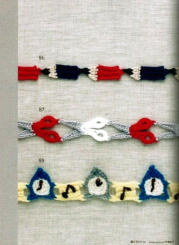 Crochet edging & braid (II)