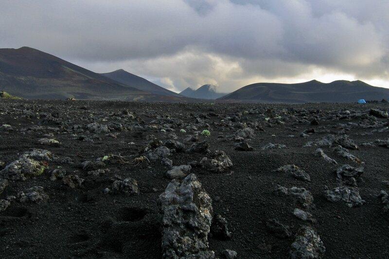 Марсианский пейзаж, Толбачик, Камчатка