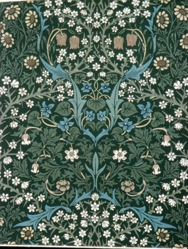 Blackthorn. William Morris