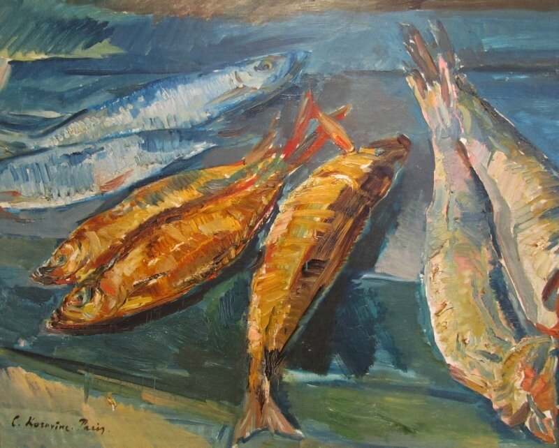 Коровин. Рыбы. 1920-е годы