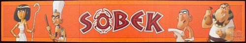 обратная сторона игрового поля настольной игры Собек (Sobek)