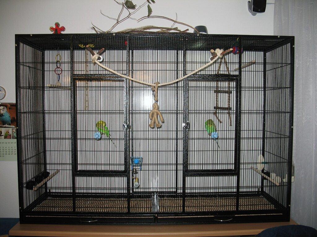 Как сделать клетку для птицы своими руками 51