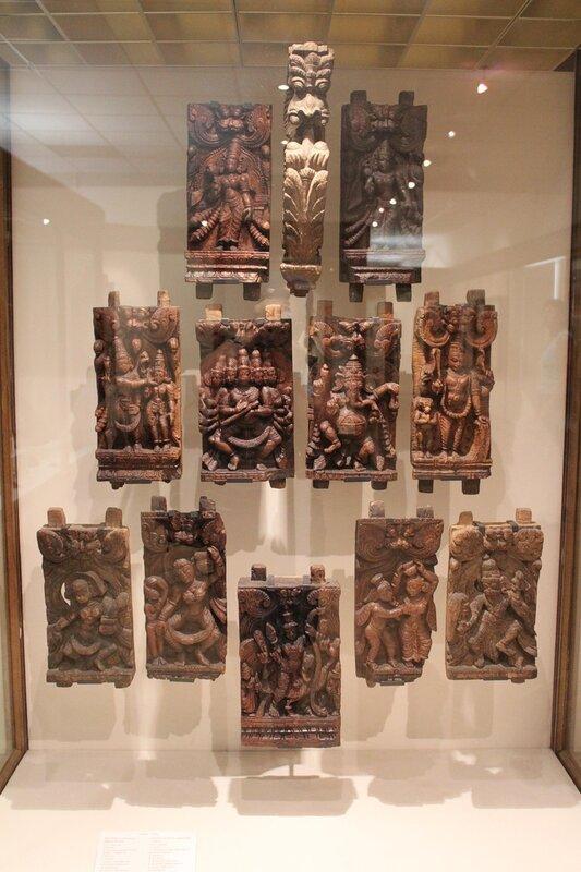 Рельефы колесницы Джаганнатха