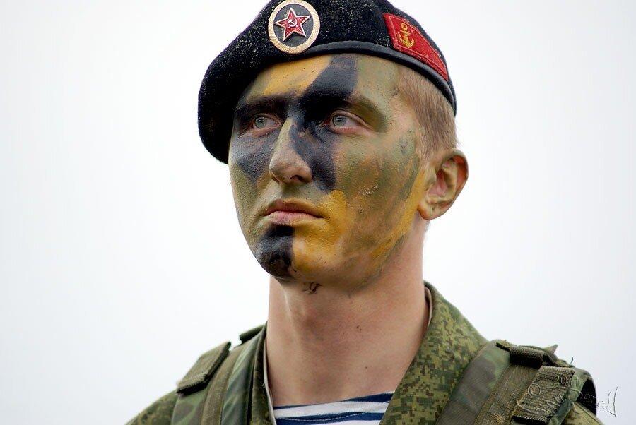 Фото боевой раскраски